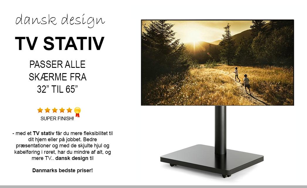 TV Stativ & TV Stand til fladskærm og Smart TV