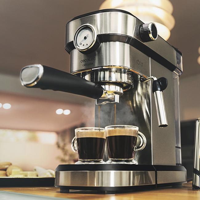 Kaffemaskine - Rustfrit stål - 1,2 ltr