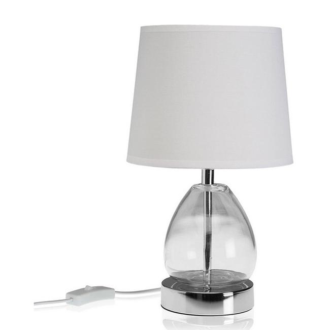 Bordlampe klarglas - 30 cm