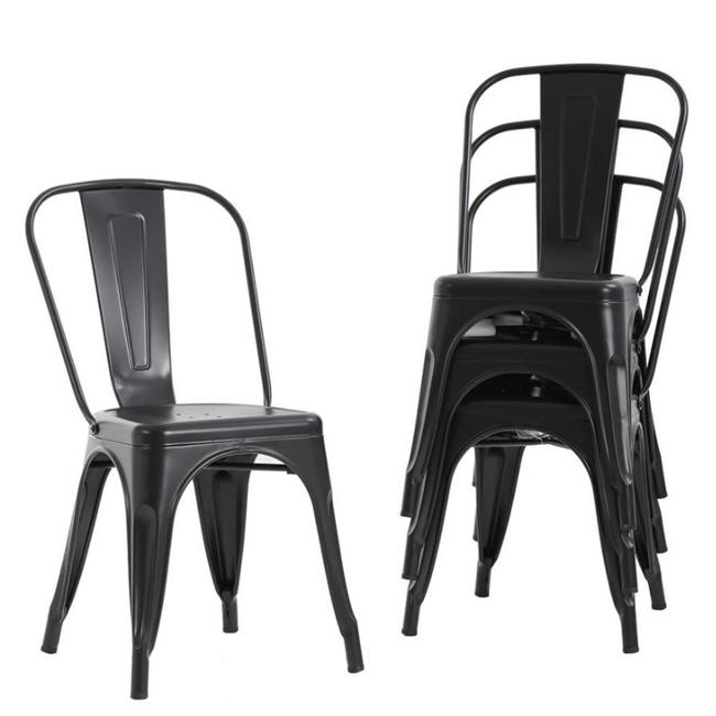 Metal stol - Stabelbar