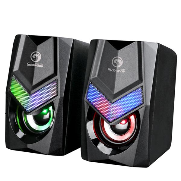 Gamer højttaler sæt - RGB lys