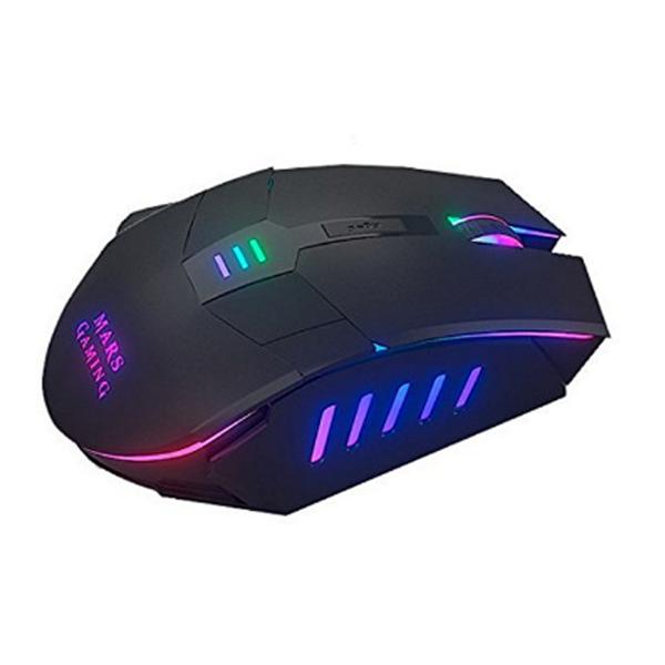 LED Gamer mus - 7 LED lys