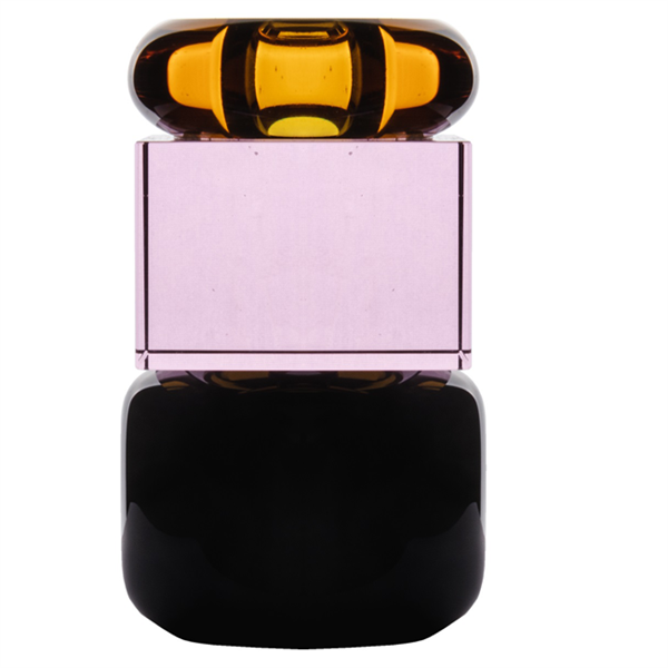 Glas lysestage - 11 cm