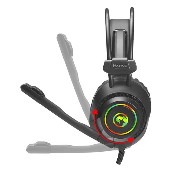 Gamer headset med surround - Microfon