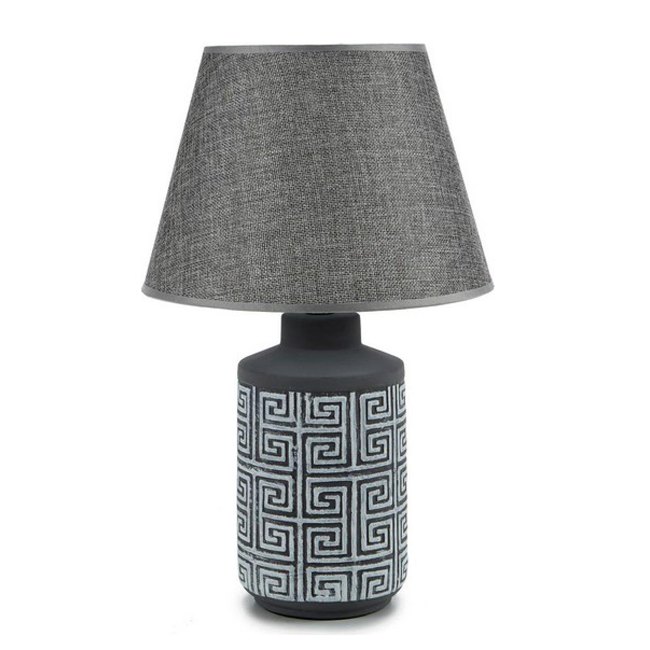 Bordlampe med skærm - 39 cm